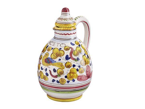 Ceramica Deruta decoro GIALLO