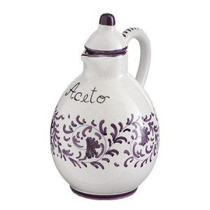 Ceramica Deruta decoro VIOLA