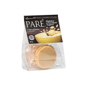 Parè-Sfogliatine di Parmigiano Reggiano
